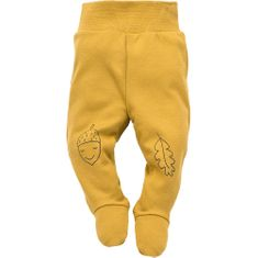 PINOKIO Detské polodupačky Secret Forest 56 žltá