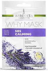 Kozmetika Afrodita Why Mask, SOS umirujuća maska, 2x 6 ml