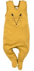 Pinokio Gyerek rugdalózó Secret Forest, 62, sárga