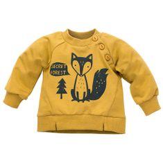 Pinokio Gyerek pulóver Secret Forest, 68, sárga