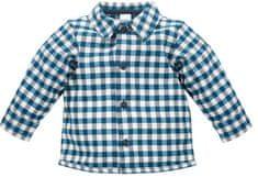 PINOKIO dětská košile Secret Forest 68 tmavě modrá