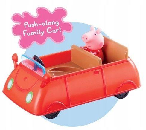 TM Toys Świnka Peppa, Samochód Peppy Z Figurką