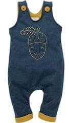 PINOKIO dětské laclové kalhoty Secret Forest 62 tmavě modrá