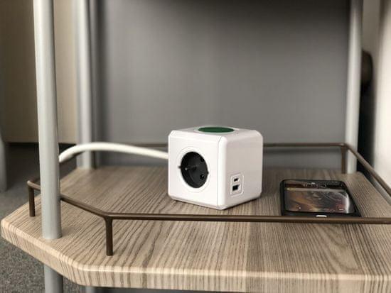 PowerCube Extended USB Wireless Charger A+C - rozbalené
