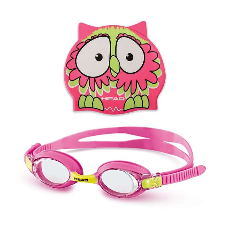 Head Sada METEOR dětská - brýle + čepice, tukan