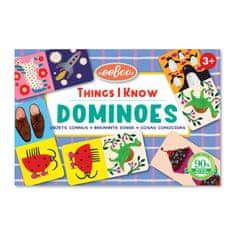 eeBoo Domino - Věci, které znám