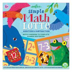 eeBoo Loto - jednoduchá matematika