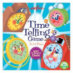eeBoo Hra - Kolik je hodin?