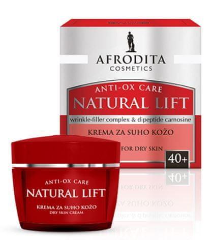 Kozmetika Afrodita Natural Lift, krema za suhu kožu, 50 ml