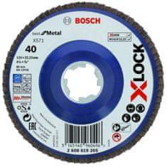 BOSCH Professional lamelna brusilna plošča X-LOCK (2608619205)