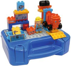 BIG gradbeni set s kovčkom PlayBig BLOXX
