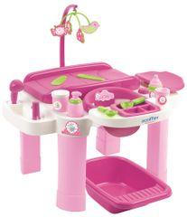 Ecoiffier Otroška previjalna in igralna miza s kadjo - Odprta embalaža