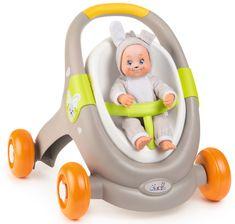 Smoby Chodzik dziecięcy Minikiss Baby Walker 3w1, zwierzak