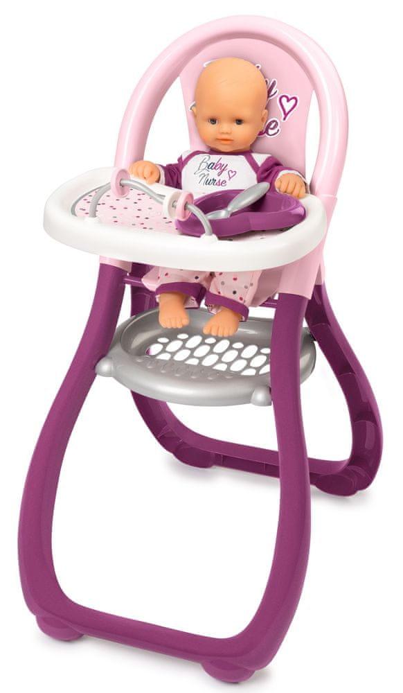 Smoby BN Jídelní židlička pro panenku