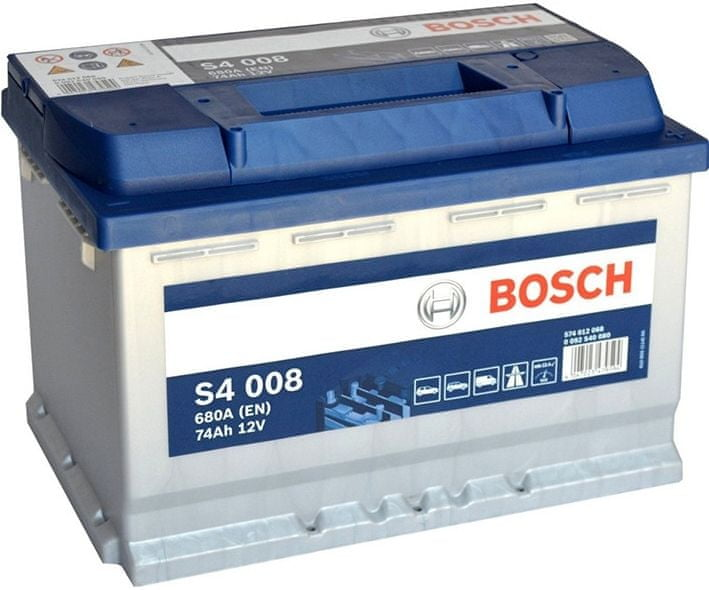 Bosch Bosch S4 12V 74Ah 680A, 0 092 S40 080