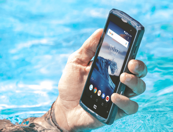 Crosscall Core-X3 mobilni telefon, tamno plavi