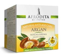 Kozmetika Afrodita Argan, noćna krema, za suhu i zahtjevnu kožu, 50 ml