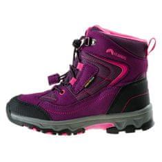 ELBRUS gyerek outdoor cipő Livan Mid WP JR violet/dark violet/light fuchsia 33
