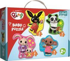 Trefl Baby puzzle Bing 4v1 (3,4,5,6 dílků)