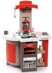 Smoby zložljiva kuhinja Tefal Opencook, elektronska, rdeča