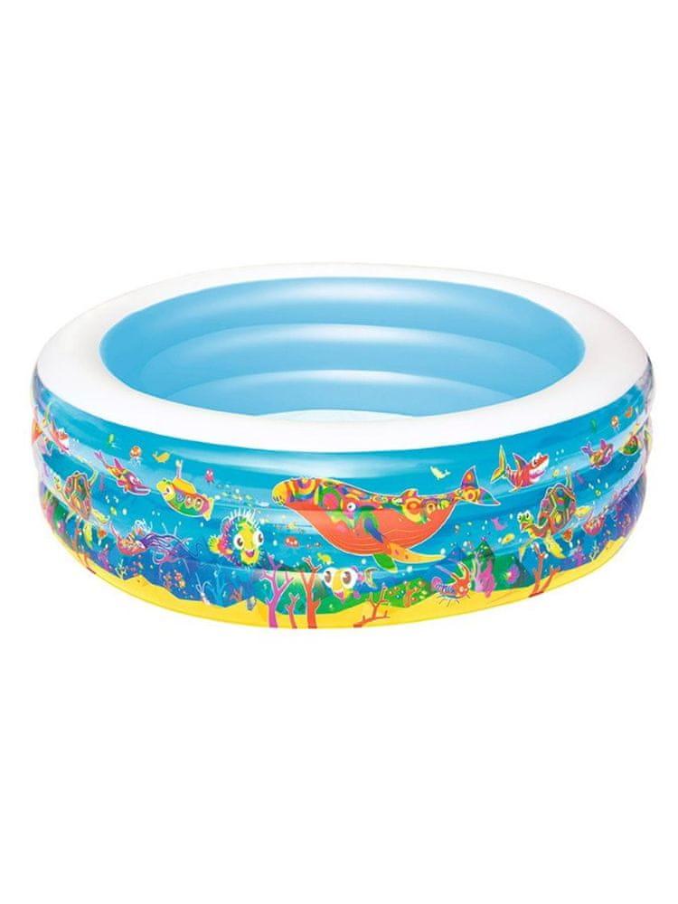 Bestway Dětský nafukovací bazén Bestway oceán