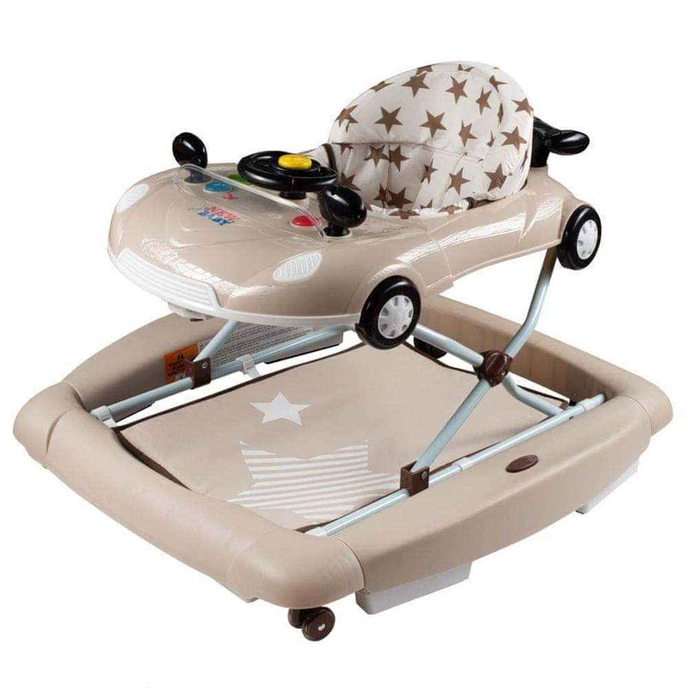 NEW BABY Dětské chodítko s houpačkou New Baby Little Racing Car
