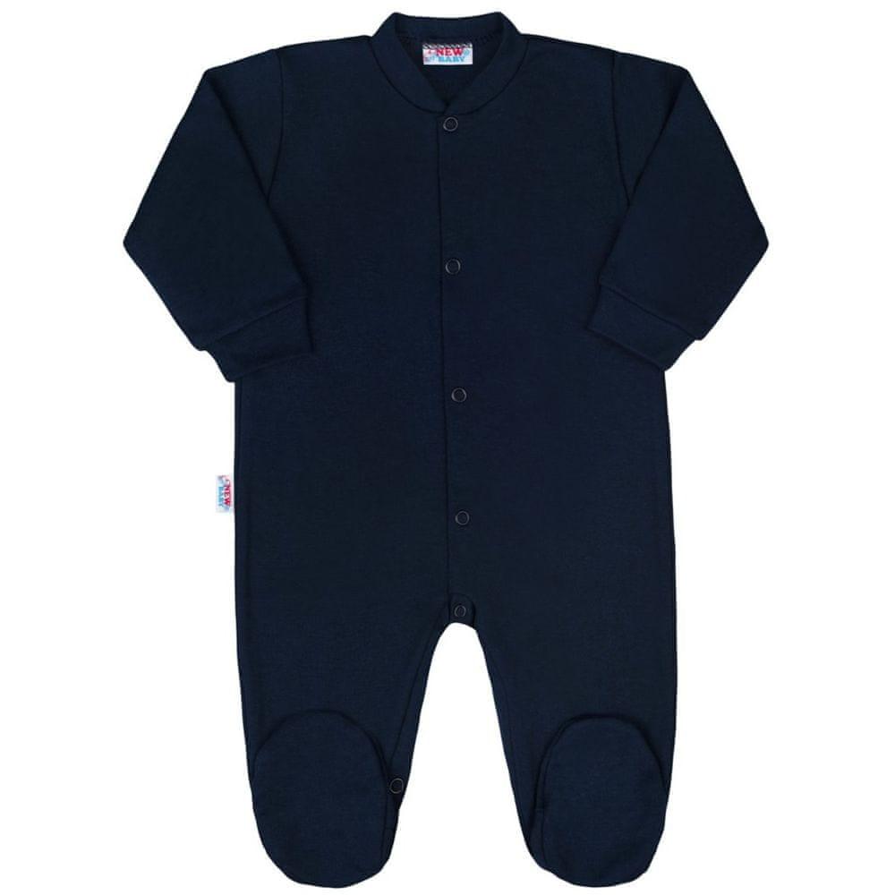 NEW BABY Kojenecký overal New Baby Classic II tmavě modrý - 56 (0-3m)