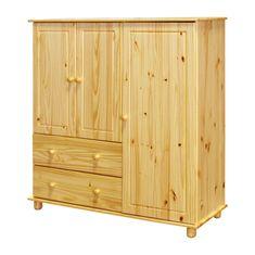 IDEA nábytok Bielizník 2 zásuvky + 3 dvierka 8018