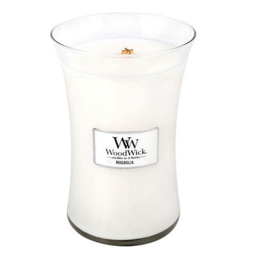 Woodwick Vonná svíčka váza Magnolia 609,5 g