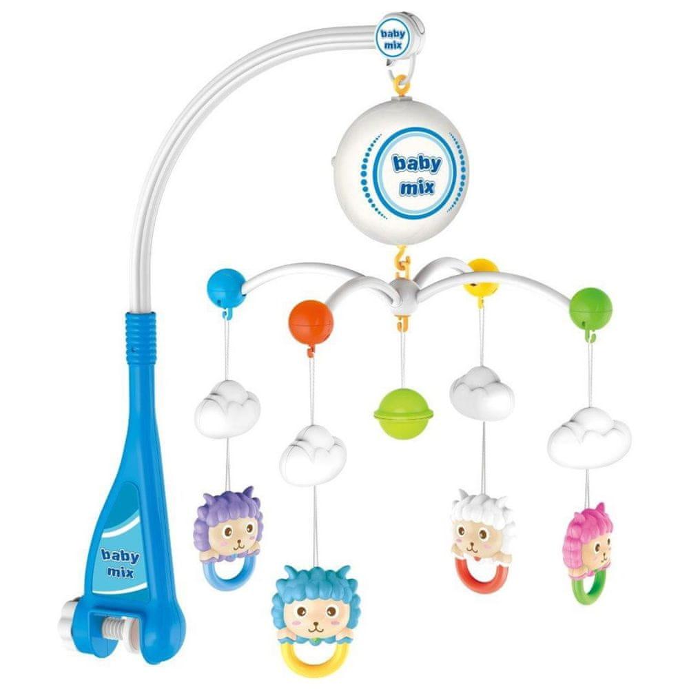 Baby Mix Elektrický kolotoč nad postýlku Baby Mix Ovečky