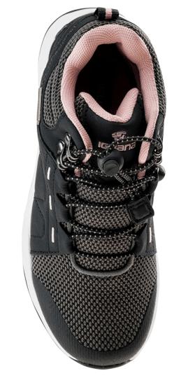 Iguana dekliški čevlji DIOMI MID JR BLACK/WHITE, črno-roza