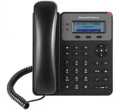 Grandstream GXP-1615 - IP telefon, LCD, 1x SIP účet, 2 linky, 2x RJ45 Mb, POE