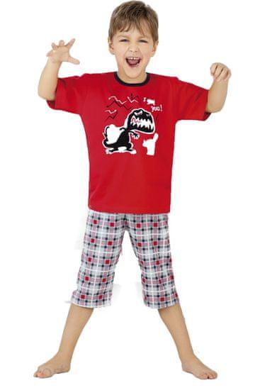 Cornette Chlapecké pyžamo 541/17 I got you + Ponožky Gatta Calzino Strech
