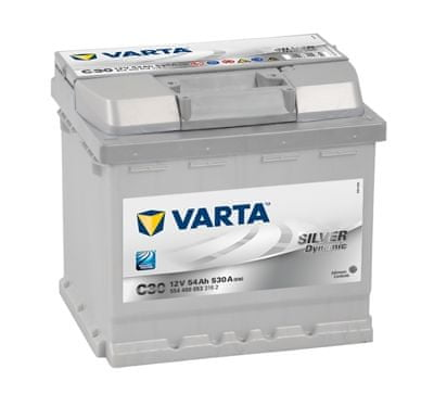 varta Autobaterie VARTA Silver Dynamic 12V 54Ah 530A 554 400053, 554400053