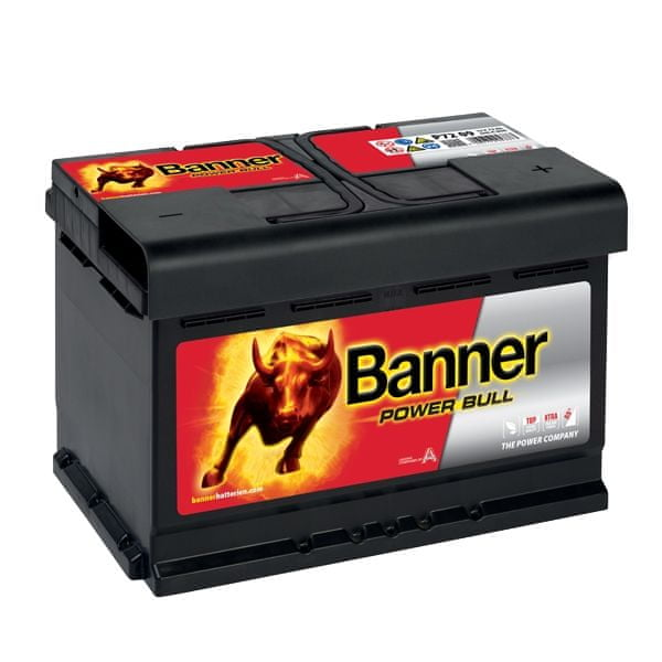 Banner Banner Starting Bull 12V 72Ah 640A 572 12