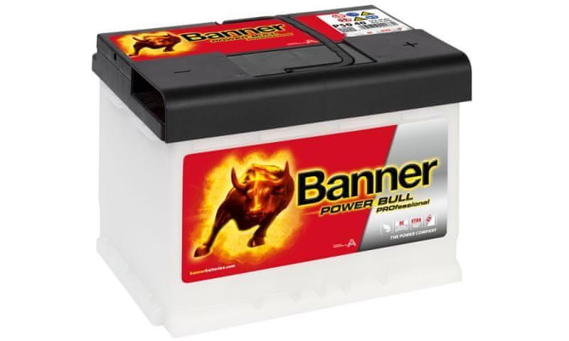 Banner Banner Power Bull Professional 12V 50Ah 420A P50 40