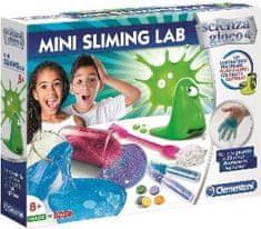 Clementoni laboratorium dziecięce - produkcja slime - mini zestaw