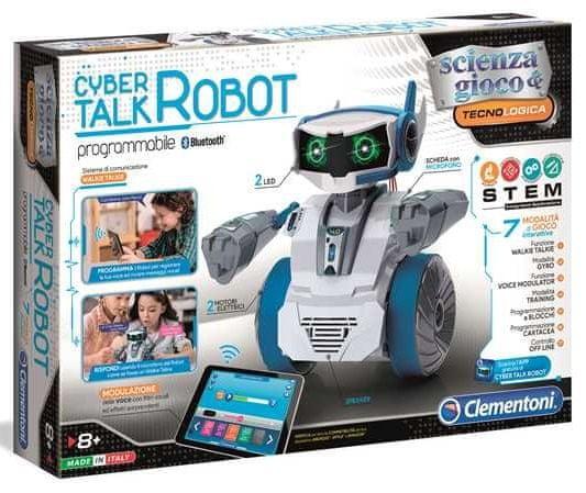 Clementoni Robot CYBER mluvicí