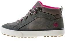Iguana Dovi Mid Jrg dekliški čevlji, grey/fuchsia, 30