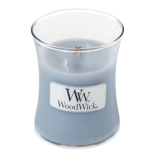 Woodwick Vonná svíčka váza Soft Chambray 85 g