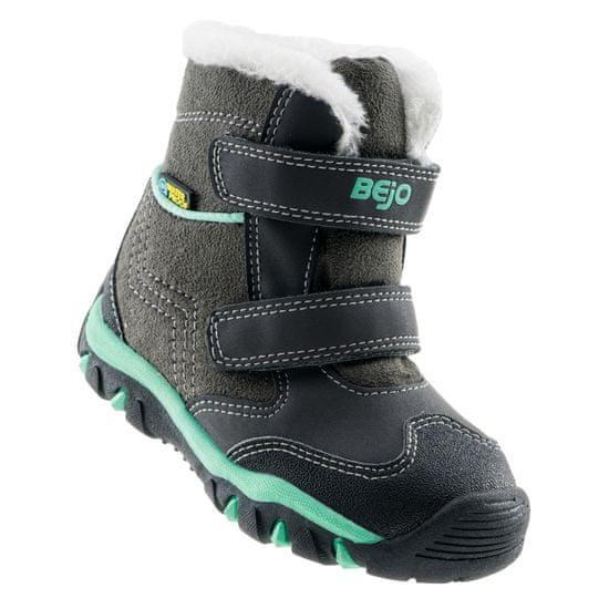 Bejo Daisy Mid Kids otroški zimski čevlji, sivo zeleni