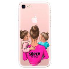 Silikónové puzdro - Super Mama - Two Girls pre Apple iPhone 7 / 8