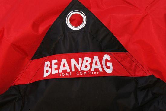 Beanbag Sedací pytel 189x140 duo scarlet rose - black
