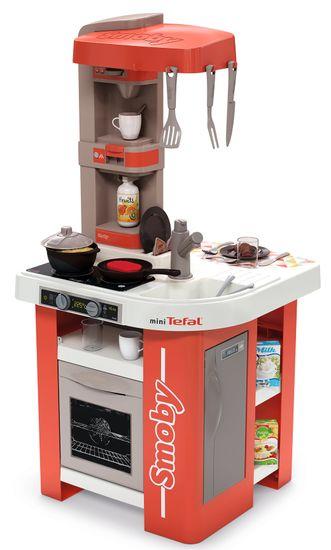Smoby aneks kuchenny Studio Tefal, czerwono-biały, elektroniczny