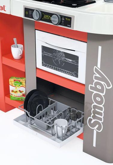 Smoby aneks kuchenny Studio Tefal XXL Bubble, czerwono-biały, elektroniczny