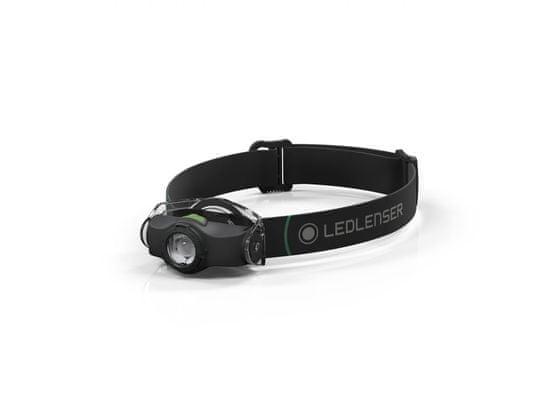 LEDLENSER naglavna baterijska svetilka MH4,1 x High Power LED,črna, v škatli