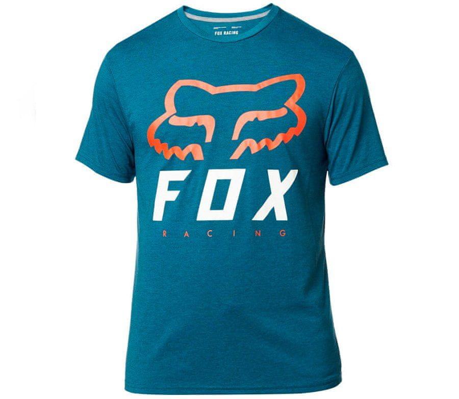 Fox tričko Heritage Forger Ss Tech blue vel. 2XL