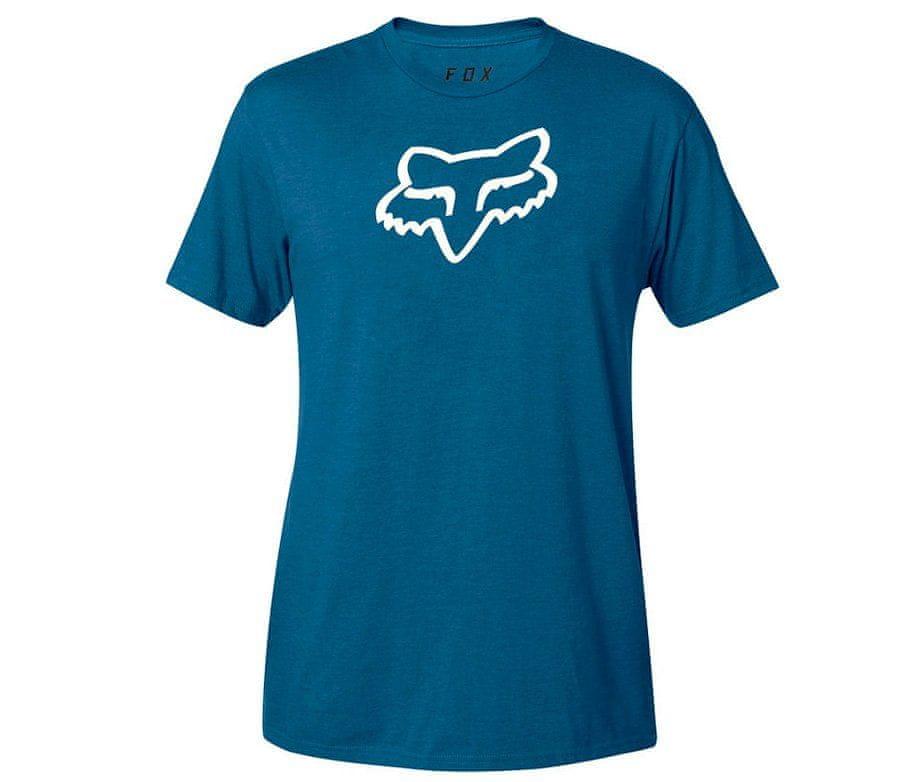 Fox tričko Legacy Fox Head Ss blue vel. XL
