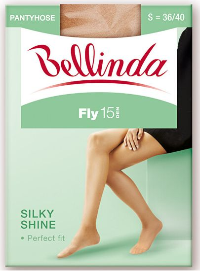 Bellinda 2 PACK - nogavice Fly 15 DEN Almond BE250000 -116