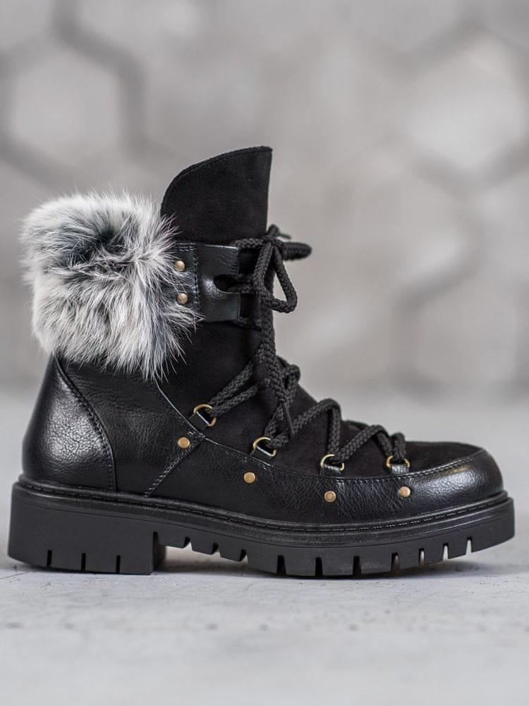 Stylomat Nazouvací dámské boty, velikost 38.